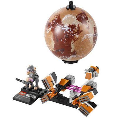 LEGO Star Wars Sebulbas Podracer Display Set 9675