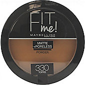 Maybelline Fit Me Matte + Poreless Powder 8.5g - 330 Toffee