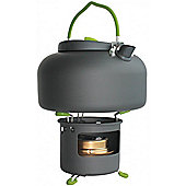 Yellowstone 1.4L Aluminium Kettle With Spirit Burner Graphite