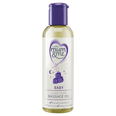 Mum & Me Baby Sleep Tight Massage Oil 100ml