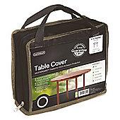 Gardman 4-6 Seater Round table Cover- Black