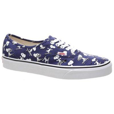 Vans Authentic (Peanuts) Snoopy/Skating Shoe UK 10