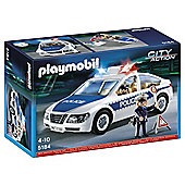 Playmobil 5184 City Action Police Car Playset with Lights