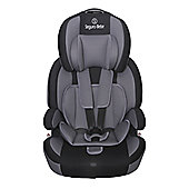 Seguro Bebe Bravo Isofix Group 1 2 3 Child Car Seat - Grey on Black