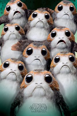 Star Wars The Last Jedi Many Porgs Poster 61 x 91.5cm