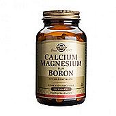 Solgar Calcium Magnesium Plus Boron Tablets 100