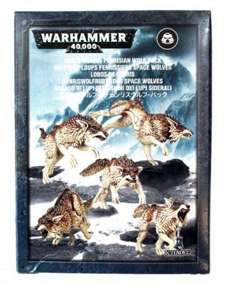 Warhammer Space Wolves Fenrisian Wolf Pack Model Kit