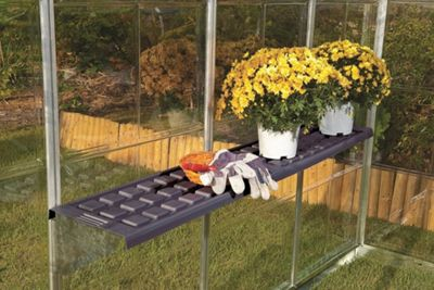 palram greenhouse accessories twin shelf kit