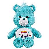 Care Bear Medium Plush With DVD - Heartsong Bear