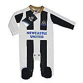 Newcastle United Baby Sleepsuit - 2016/17 Season - White