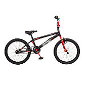 "Rooster Radical Kids 20"" Wheel Freestyle BMX Bike Black"