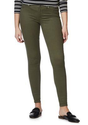 JDY Five-Pocket Skinny Jeans Khaki XL (16) 32 Leg