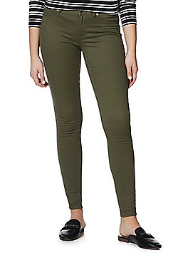 JDY Five-Pocket Skinny Jeans - Khaki