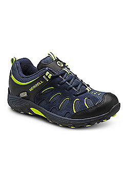 Merrell Kids Cham Low Lace Shoes - Navy
