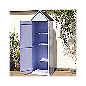 2 x 2 Blue Beach Style Apex Sentry Storage Shed 2ft x 2ft (0.65m x 0.65m)