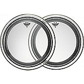 Remo Powerstroke Pro Clear Bass Drum Head (24in)