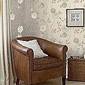 Superfresco Shaan Floral Neutral Wallpaper