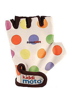 Kiddimoto Gloves Pastel Dotty (Small)