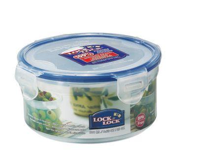 Lock & Lock 600ml Round Food Container (Set of 4)