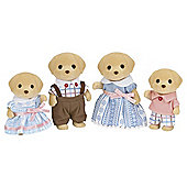 Sylvanian Families Yellow Labrador Dog Family