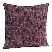 Nirvana Cotton Mauve Scatter Cushion, 45 x 45 cm