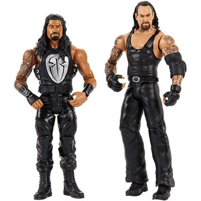 WWE® Undertaker vs Roman Reigns Action Figure 2 Pack