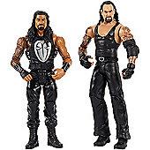 WWE® Undertaker vs Roman Reigns Action Figure 2 Pack