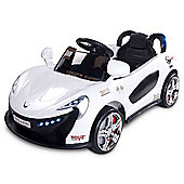 Caretero Aero Battery Operated Ride-On Car (White)