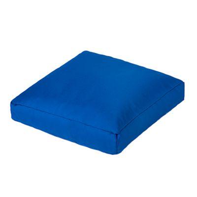 Gardenista Blue Water Resistant Small Bean Bag Slab Cushion