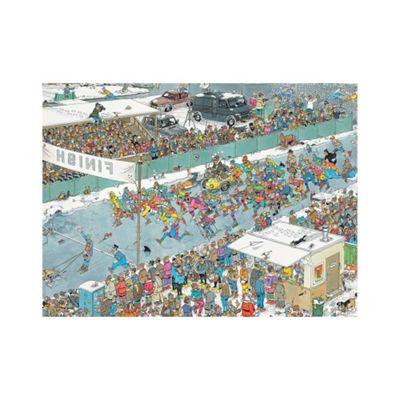 Jumbo Games Eleven City Ice Tour 1000 Piece Jigsaw Puzzle Jumbo