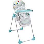 Badabulle Easy Highchair (Blue/Grey)