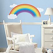 Baby Wall Stickers, Kids Wall Stickers, Nursery Wall Stickers - Giant Rainbow