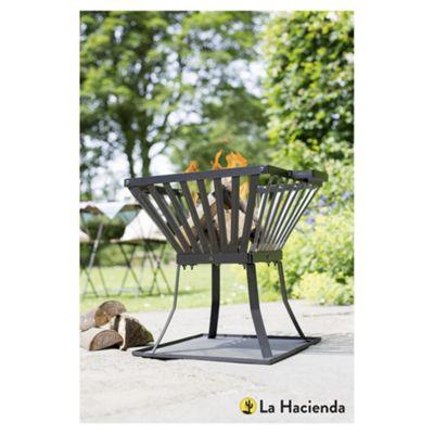 La Hacienda Steel Fire Basket