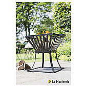 La Hacienda Steel Fire Basket