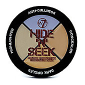 W7 Hide 'N' Seek Quad Colour Correcting Concealer -Lavender