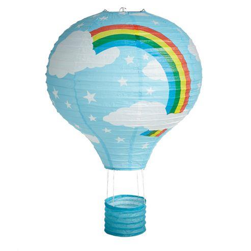 Loxton Lighting Rainbow Hot Air Balloon Paper Lantern