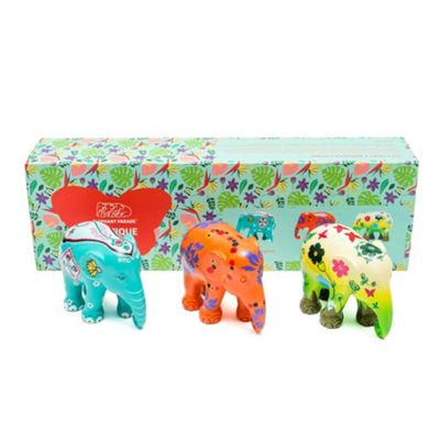 Elephant Parade Multi Pack Exotique Set of 3 x 7cm Size
