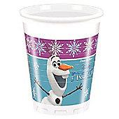 Disney Frozen Plastic Party Cups - 200ml