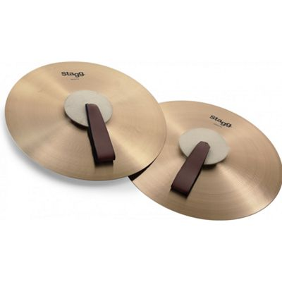 Stagg Pair of Marching/Concert Cymbals - 16 Inch