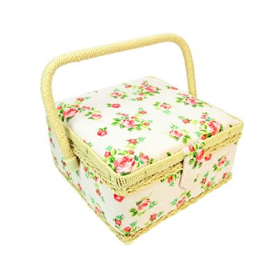Floral Craft and Hobby Storage Box