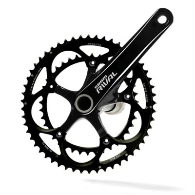 SRAM Rival Chainset OCT Mirror Black 170mm 53-39t Inc GXP BB