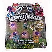 Spinmaster Hatchimals CollEGGtibles 4 Pack + Bonus FARM Blue Pony Season 2
