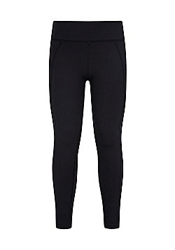 Zakti GET THE MESSAGE MINI ME KIDS LEGGING - Black