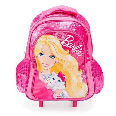 Pink Barbie Trolley Backpack