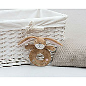 Little Nutbrown Hare Ring Rattle