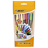 Bic Cristal Ballpoint Pen Multi Colour 20 Pack