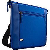 "Case Logic Intrata 15.6"" Messenger Blue Polyester 42 x 3 32 cm 290 g"