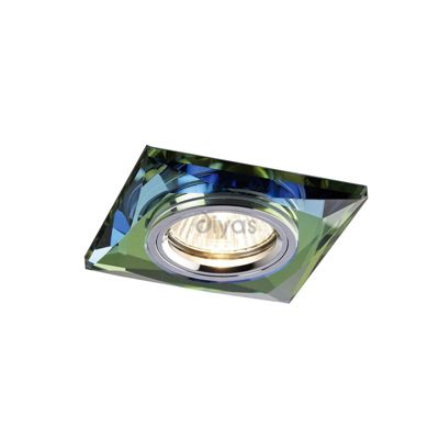 Crystal Downlight Chamfered Square Rim Only Spectrum