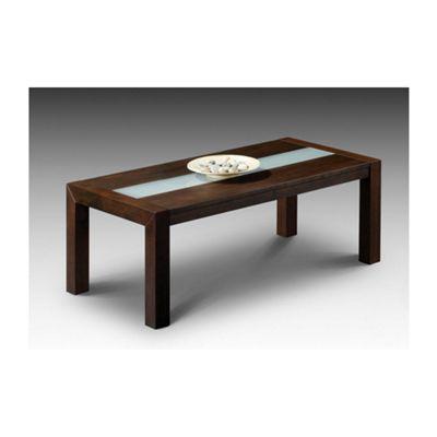 Julian Bowen Santiago Coffee Table in Wenge Finish