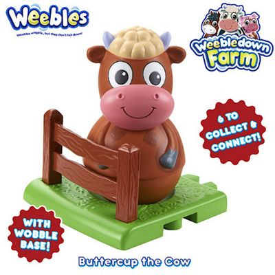 Weebledown Farm Weebles - Buttercup the Cow Weeble